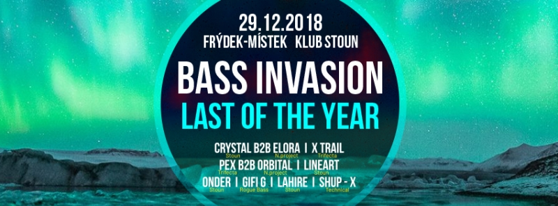 BASS INVASION - LAST OF THE YEAR