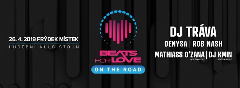 Beats For Love: On The Road w/ Dj Tráva