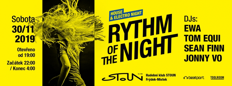 Rythm of the night / techno night
