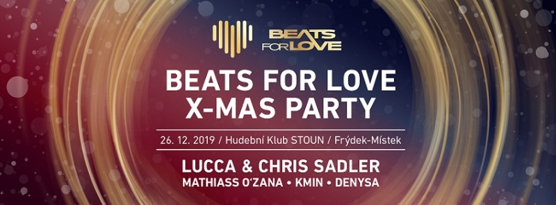 Beats for Love XMAS w/ DJ Lucca & Chris Sadler