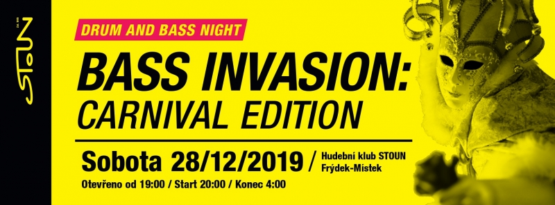 Bass Invasion - carnival edition